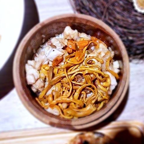 Recipe 杞子蟲草三色飯
