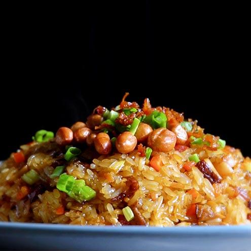 Recipe 生炒糯米飯