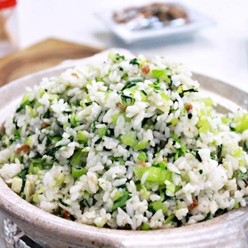 Recipe 菜飯(伴糖醋排骨)